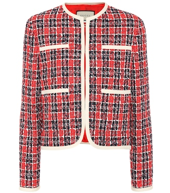 Gucci - Tweed jacket - mytheresa.com