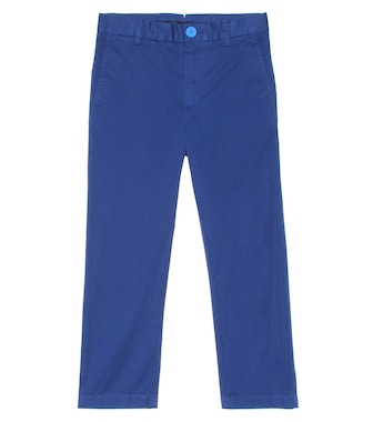 Burberry Kids - Cotton twill pants - mytheresa.com