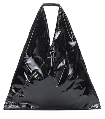 MM6 Maison Margiela - Japanese coated leather tote - mytheresa.com