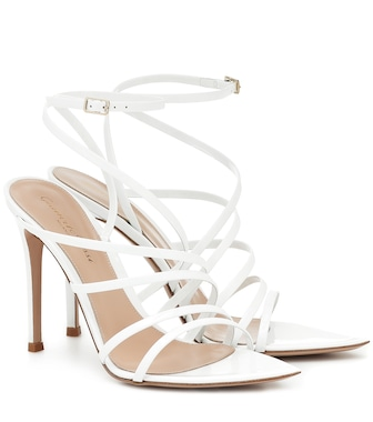 Gianvito Rossi - Eclypse 105 leather sandals - mytheresa.com