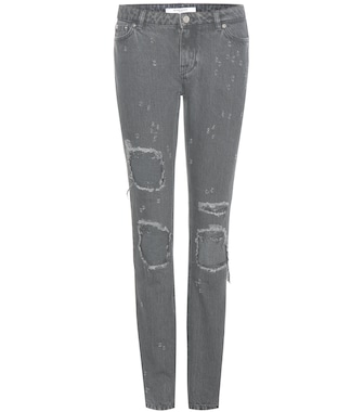Givenchy - Distressed jeans - mytheresa.com