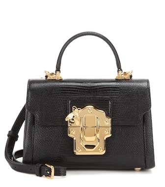 Dolce & Gabbana - Lucia Mini leather cross-body bag - mytheresa.com