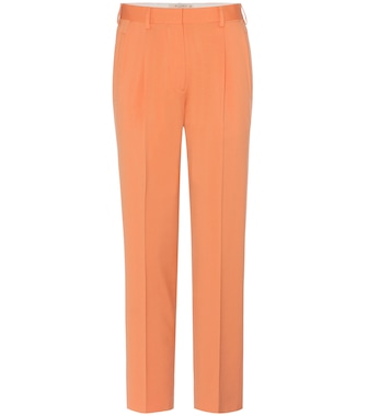 Etro - Cropped wool trousers - mytheresa.com