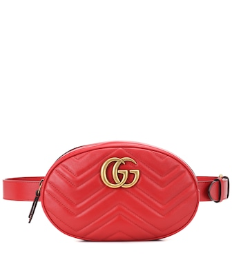 Gucci - GG Marmont leather belt bag - mytheresa.com