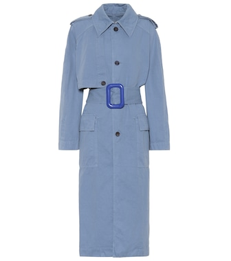 Acne Studios - Olixa cotton and linen trench coat - mytheresa.com
