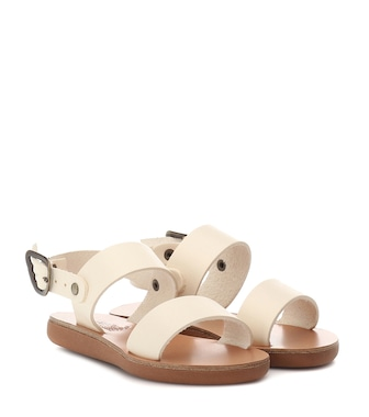 Ancient Greek Sandals Kids - Little Clio Soft leather sandals - mytheresa.com