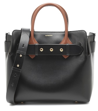 Burberry - The Belt Small leather tote - mytheresa.com
