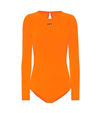 Off-White - Body con logo - mytheresa.com