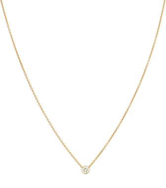 Sophie Bille Brahe - Diamante Simple 18kt gold and diamond necklace - mytheresa.com