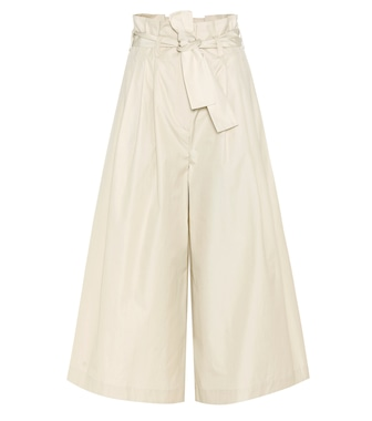 Fendi - Cotton culottes - mytheresa.com