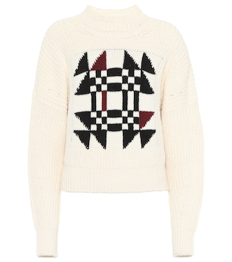 Isabel Marant - Lawrie cotton and wool-blend  sweater - mytheresa.com
