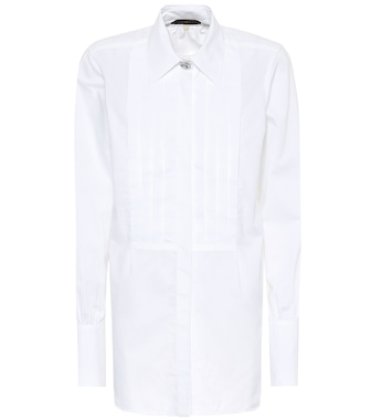 AlexaChung - Cotton shirt - mytheresa.com