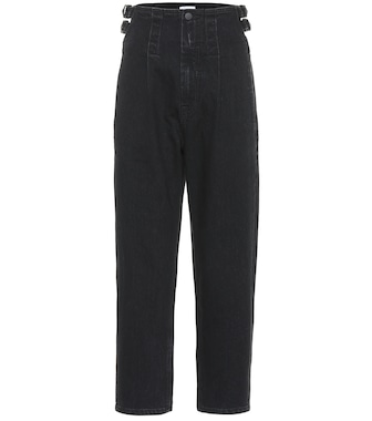 COLOVOS - High-rise straight jeans - mytheresa.com