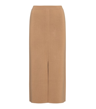 Gabriela Hearst - Hodgins wool, cashmere and silk midi skirt - mytheresa.com