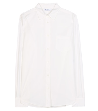 Loro Piana - Ramie cotton-blend shirt - mytheresa.com