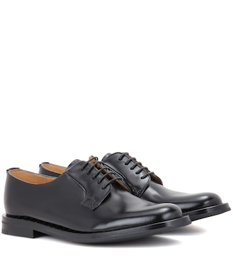 Church's - Leather Derby shoes - mytheresa.com