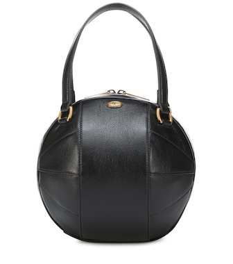 Gucci - Tifosa Small leather tote - mytheresa.com