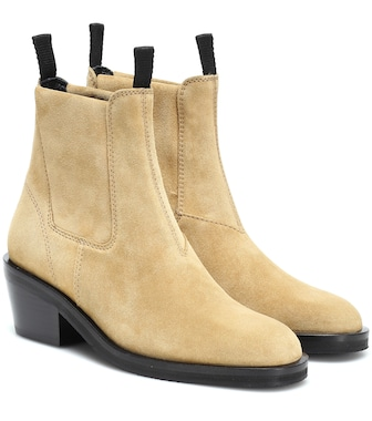 Acne Studios - Suede ankle boots - mytheresa.com