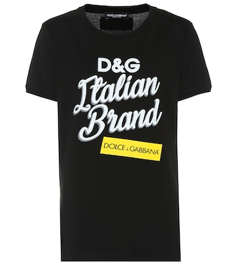 Dolce & Gabbana - Printed cotton T-shirt - mytheresa.com