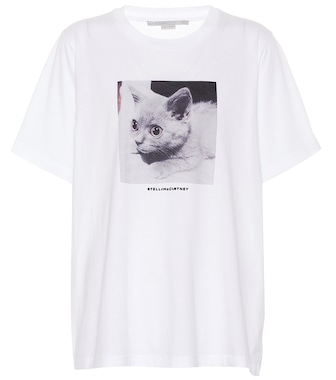 Stella McCartney - Printed cotton T-shirt - mytheresa.com