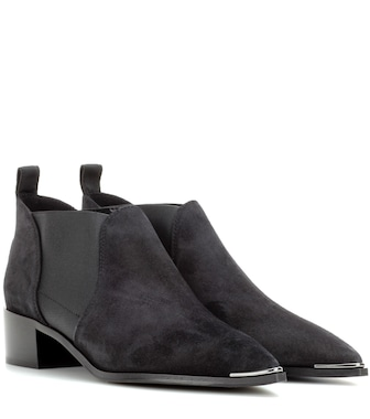 Acne Studios - Jenny suede ankle boots - mytheresa.com