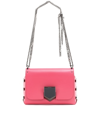 Jimmy Choo - Lockett Petite leather shoulder bag - mytheresa.com