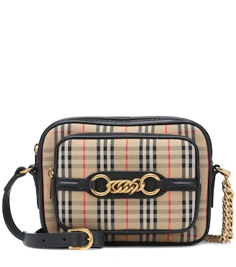 Burberry - The Link checked crossbody bag - mytheresa.com