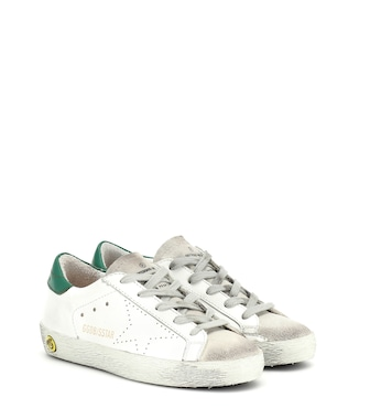 Golden Goose Kids - Zapatillas Superstar de piel - mytheresa.com