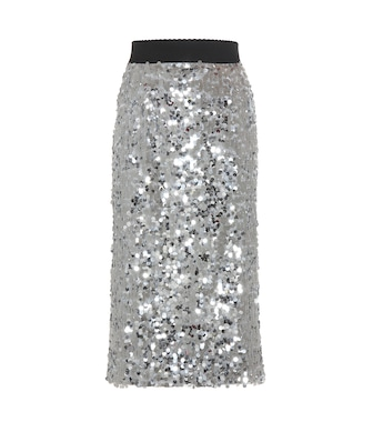 Dolce & Gabbana - Sequinned skirt - mytheresa.com