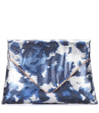 Dries Van Noten - Metallic clutch - mytheresa.com