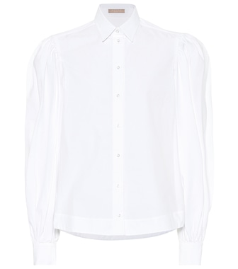 Alaïa - Cotton shirt - mytheresa.com