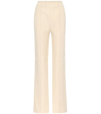 Acne Studios - High-rise pants - mytheresa.com
