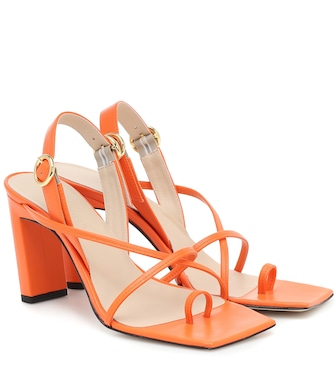 Wandler - Elza leather sandals - mytheresa.com
