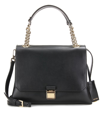 Miu Miu - Leather tote - mytheresa.com