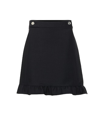 Tory Burch - Stretch-wool miniskirt - mytheresa.com