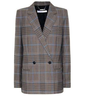 Givenchy - Checked blazer - mytheresa.com