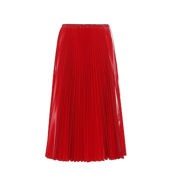 Fendi - Pleated nylon midi skirt - mytheresa.com