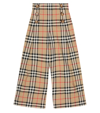 Burberry Kids - Tilda Vintage Check cotton pants - mytheresa.com