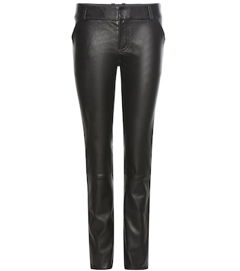 Stouls - Jerry leather trousers - mytheresa.com