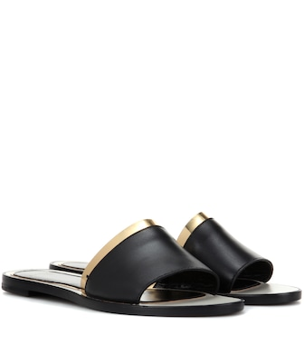 Lanvin - Leather sandals - mytheresa.com