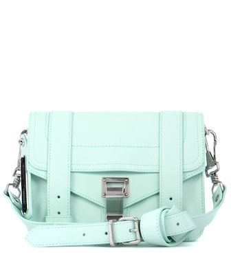 Proenza Schouler - PS1 Mini Crossbody leather shoulder bag - mytheresa.com