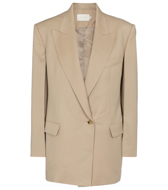 Low classic - Single-breasted wool blazer - mytheresa.com