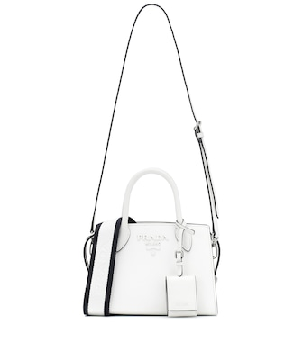 Prada - Galleria Small leather shoulder bag - mytheresa.com