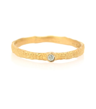 Elhanati - Roxy Love 18kt gold ring with green diamond - mytheresa.com