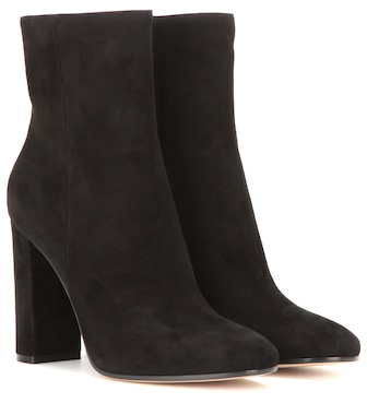 Gianvito Rossi - Suede ankle boots - mytheresa.com