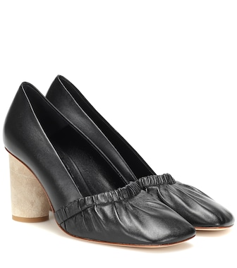 Loewe - Leather pumps - mytheresa.com