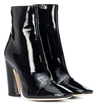 Jimmy Choo - Mirren 100 leather ankle boots - mytheresa.com