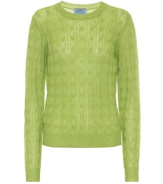 Prada - Cable-knit sweater - mytheresa.com