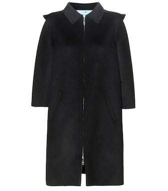 Prada - Virgin wool-blend coat - mytheresa.com
