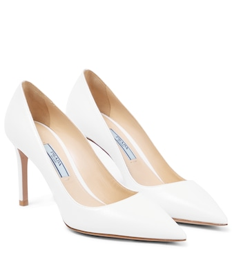 Prada - Pumps aus Lackleder - mytheresa.com